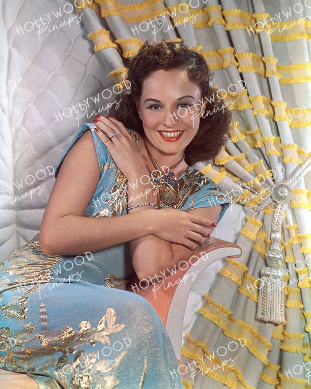 Paulette Goddard Glittering Glamour 1940 | Hollywood Pinups | Film Star Color and B&W Prints