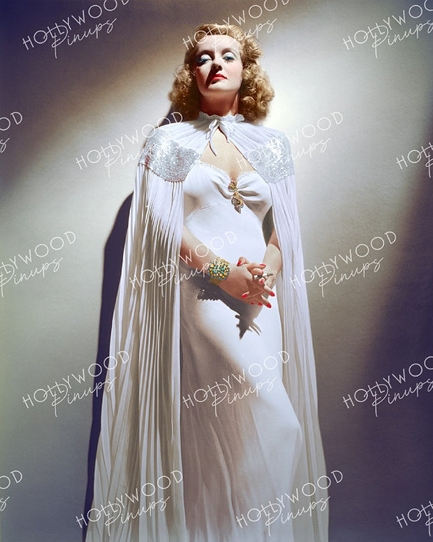 Bette Davis Dazzling Glamour 1938 - NEW ! | Hollywood Pinups | Film Star Colour and B&W Prints