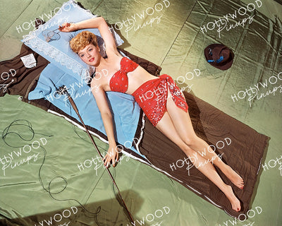 Leslie Brooks COVER GIRL 1944 Kodachrome | Hollywood Pinups Color Prints