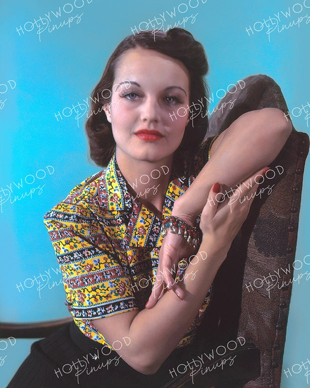 Rochelle Hudson Dazzling Eyes 1938 | Hollywood Pinups | Film Star Colour and B&W Prints
