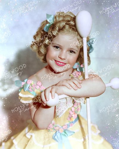 Shirley Temple in THE LITTLEST REBEL 1935 | Hollywood Pinups Color Prints