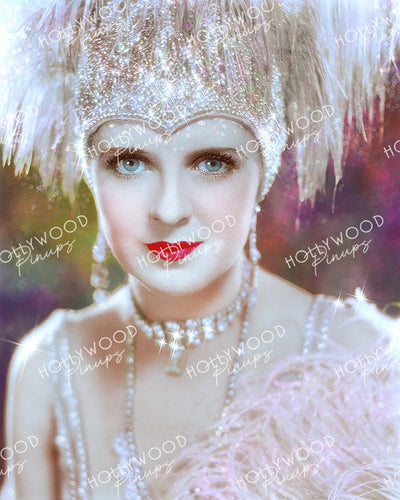 May McAvoy in THE JAZZ SINGER 1927 by Preston Duncan | Hollywood Pinups Color Prints