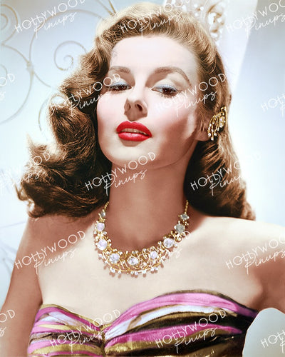 Elaine Stewart Sultry Glamour 1953 | Hollywood Pinups Color Prints