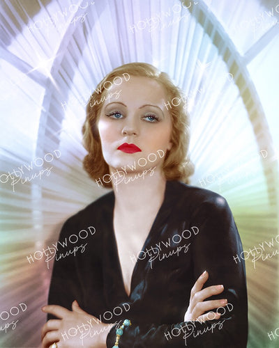 Tallulah Bankhead Sultry Stance 1931 | Hollywood Pinups Color Prints