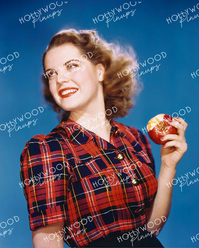 Ruth Terry Apple Crunch 1939 | Hollywood Pinups Color Prints