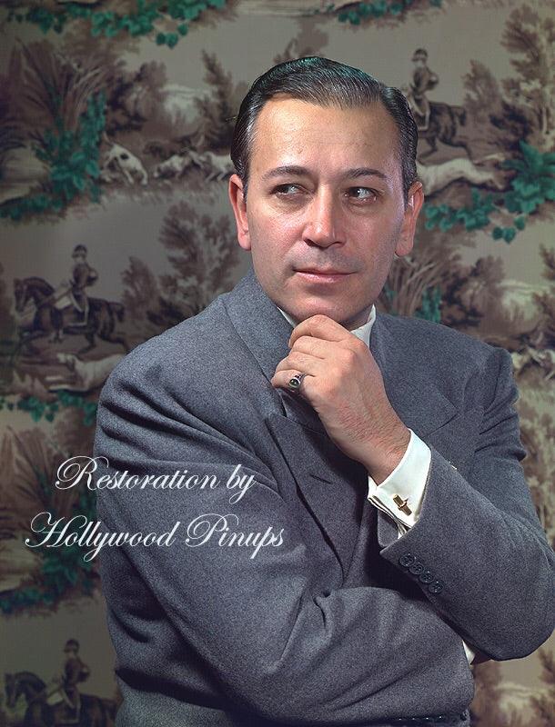 George Raft Tough Guy 1942 | Hollywood Pinups | Film Star Colour and B&W Prints