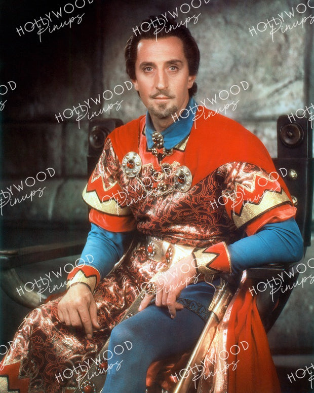 Basil Rathbone THE ADVENTURES OF ROBIN HOOD 1938 | Hollywood Pinups | Film Star Color and B&W Prints