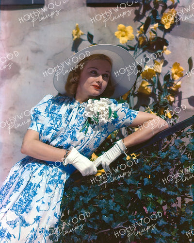 Joan Bennett Garden Belle 1938 | Hollywood Pinups Color Prints