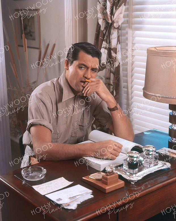 Cary Grant Home Office 1939 | Hollywood Pinups | Film Star Colour and B&W Prints