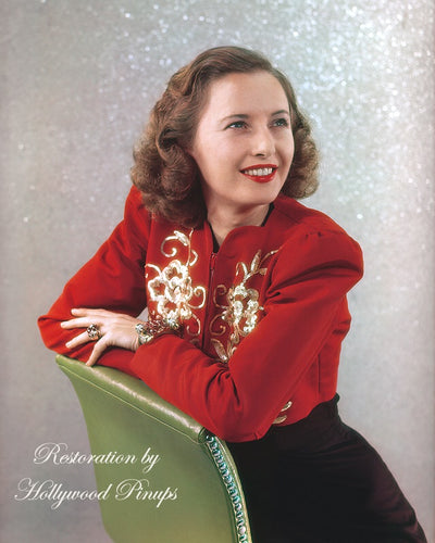 Barbara Stanwyck Glittering Star 1939 | Hollywood Pinups | Film Star Colour and B&W Prints