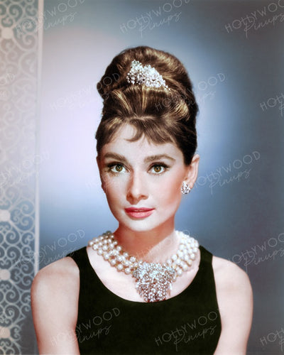 Audrey Hepburn BREAKFAST AT TIFFANY'S 1961 | Hollywood Pinups | Film Star Colour and B&W Prints