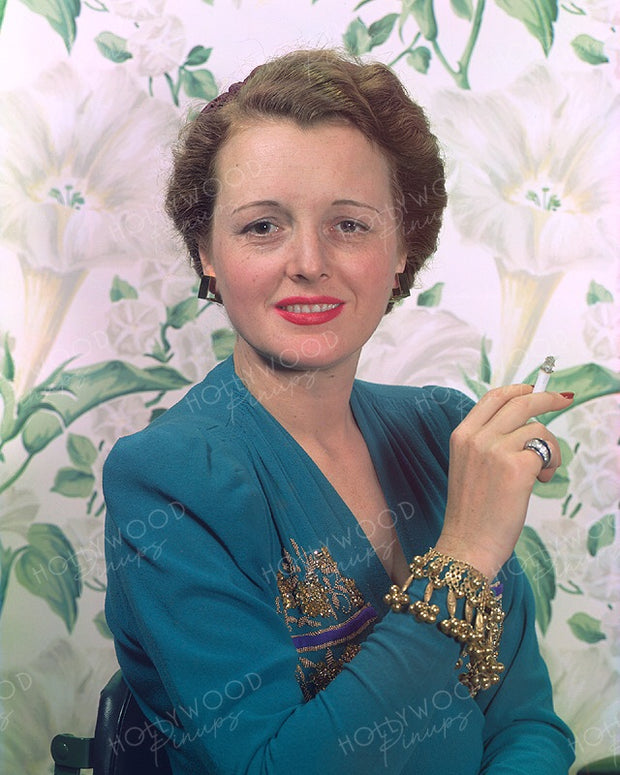 Mary Astor Gold Charms 1940 | Hollywood Pinups | Film Star Colour and B&W Prints