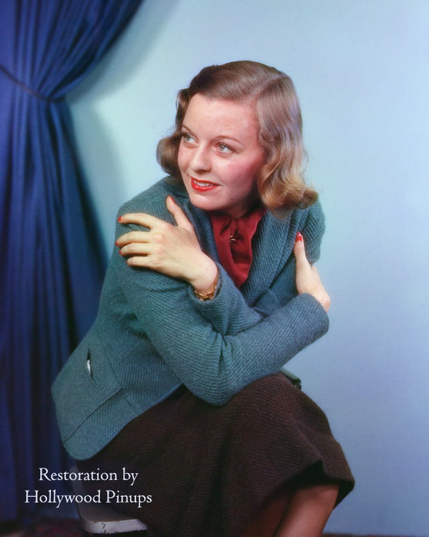 Margaret Sullavan Earliest Color 1936 | Hollywood Pinups | Film Star Colour and B&W Prints