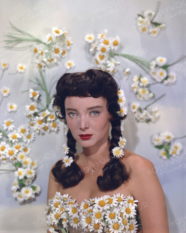 Carolyn Jones Dazzling Daisies 1956 | Hollywood Pinups | Film Star Colour and B&W Prints