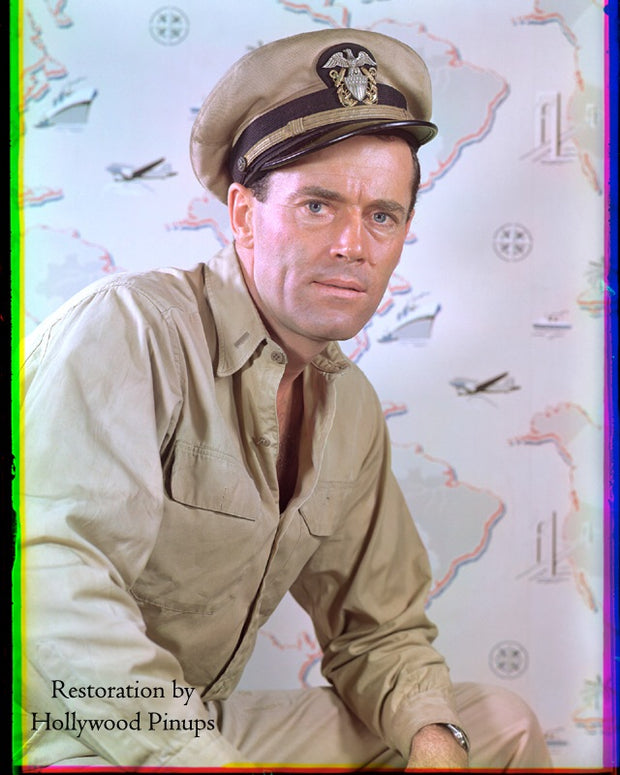 Henry Fonda MISTER ROBERTS 1948 | Hollywood Pinups | Film Star Colour and B&W Prints
