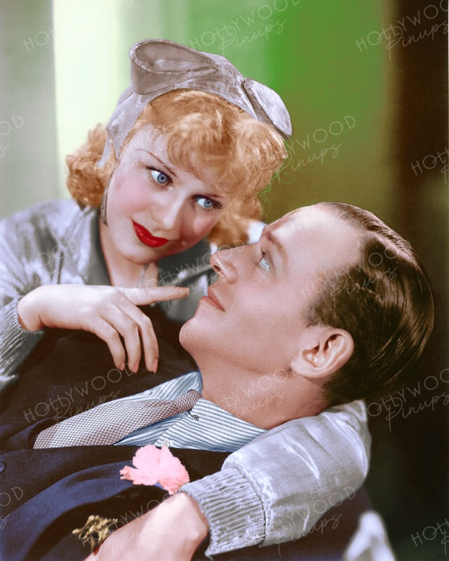 Ginger Rogers Fred Astaire In Flying Down To Rio 1933 Hollywood Pinups Color Prints