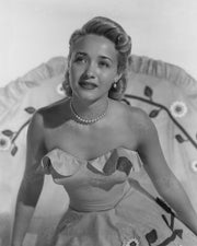 Jane Powell Strapless Dress 1950 | Hollywood Pinups | Film Star Colour and B&W Prints