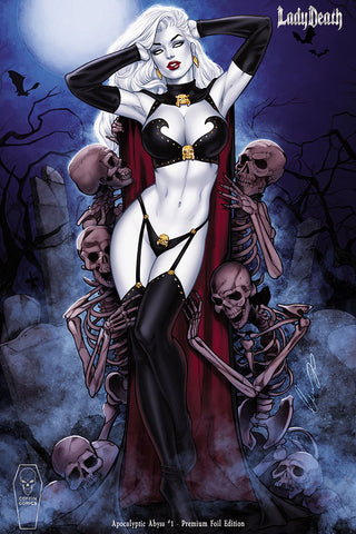 Lady Death: Apocalyptic Abyss #1 (of 2) - Premium Foil Edition