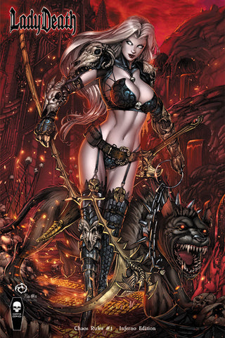 Lady Death: Chaos Rules - Inferno Edition