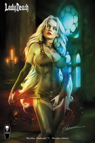 Lady Death: Merciless Onslaught - Naughty Edition (Comic Market)