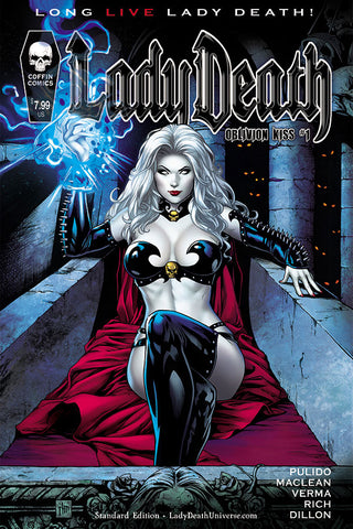 Lady Death: Oblivion Kiss #1 - Standard Edition