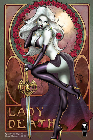 Lady Death: Apocalyptic Abyss #2 (of 2) - Violet Edition