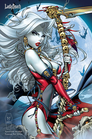 Lady Death: Apocalyptic Abyss #2 (of 2) - Paul Green Prem. Foil Ed.