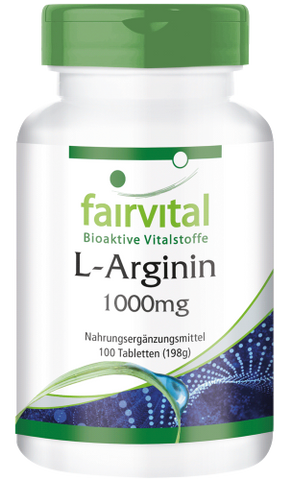 L-Arginin 1000mg - 100 Tabletten