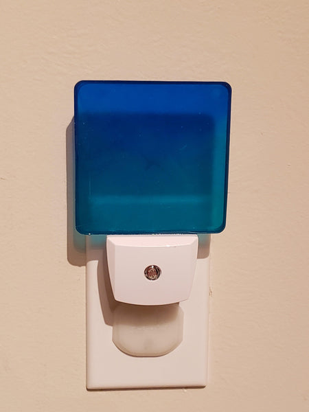 Cool Blue LED Nightlight