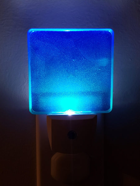 Cool Blue LED Nightlight - Drifting Purpose