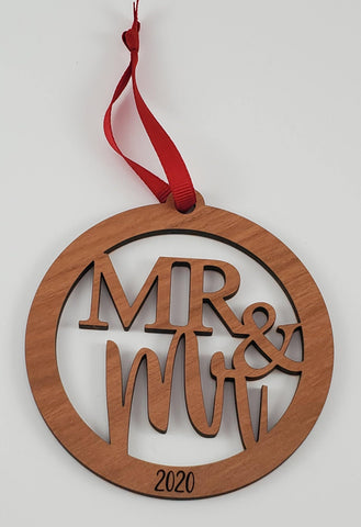 Mr & Mr Ornament