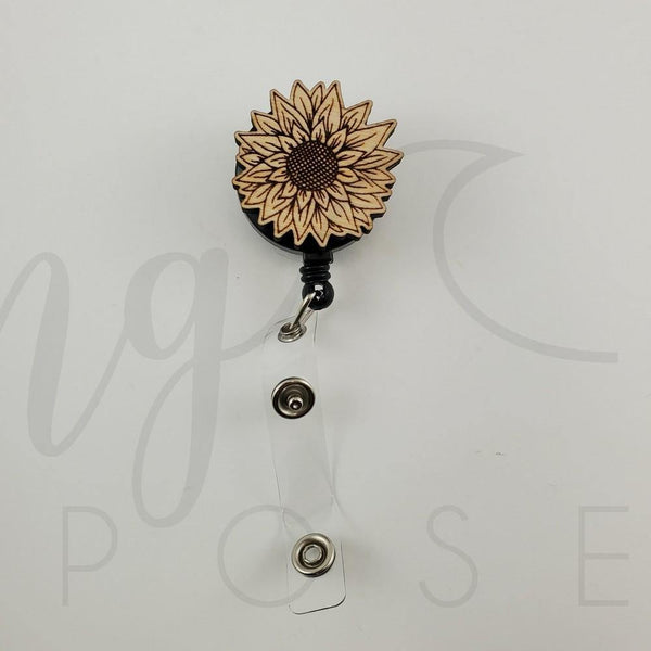 Sun Flower Badge Pull - Drifting Purpose