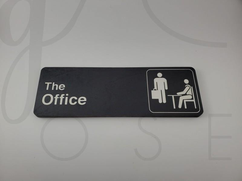 Dunder Mifflin Office Sign - Drifting Purpose