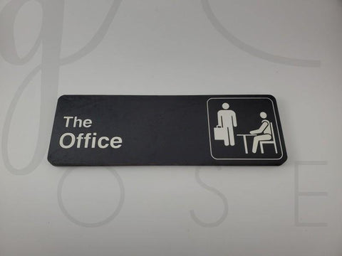 Dunder Mifflin Office Sign