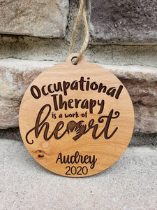 Occupational Therapist Ornament - Drifting Purpose