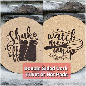 Shake it Off/ Watch the Whip Hot Pad