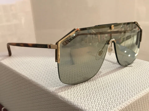 Gucci  Sensual  Romantic Gold / Havana -Bronze   GG0291S  Sunglasses  For male