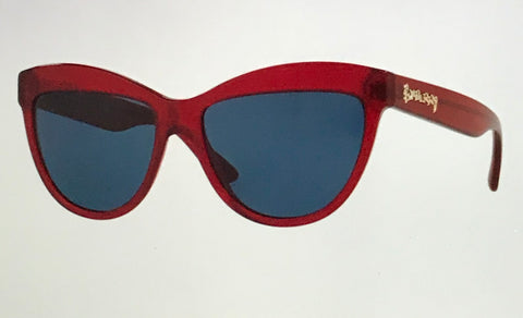 Burberry  Red Cat Eye  4267  Sunglasses Female