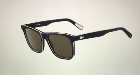 Lacoste  L601SND Black Acetate Sunglasses Male