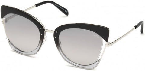 Emilio Pucci  0074 Sunglasses  05C Black  smoke mirror