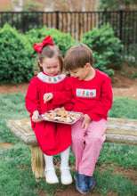 Load image into Gallery viewer, Smocked Christmas Cookie Long Sleeve Shirt