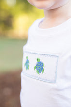 Load image into Gallery viewer, Sea Turtle Smocked Shirt