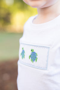 Sea Turtle Smocked Shirt