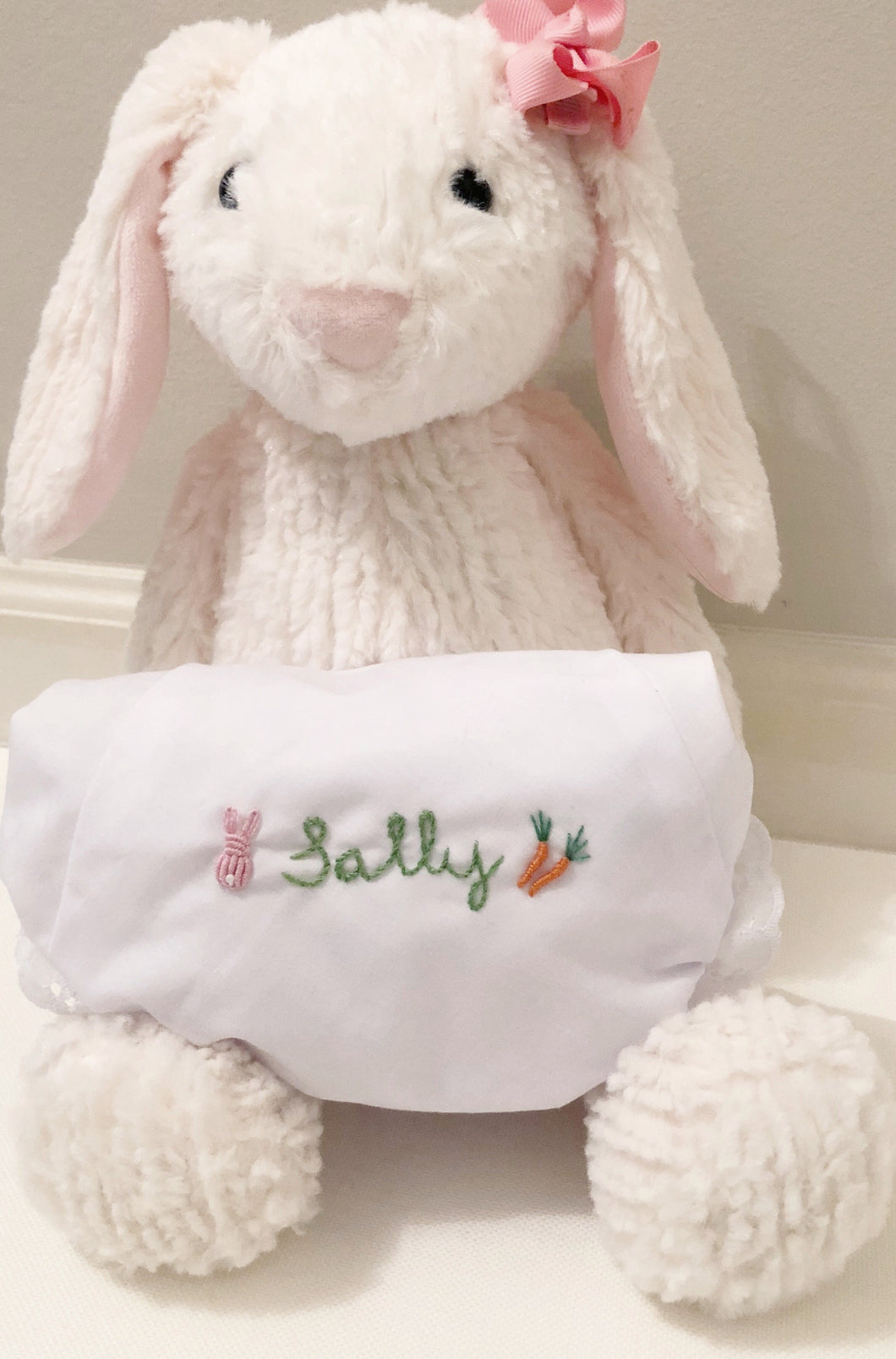 Hand Embroidered Celebration Bunny Bloomers