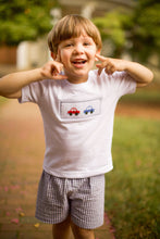 Load image into Gallery viewer, Beep Beep! Smocked T-Shirt