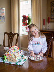 Girls Gingerbread House Shirt