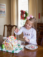 Load image into Gallery viewer, Girls Gingerbread House Shirt