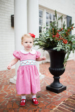 Load image into Gallery viewer, Poinsettia Bow Back Dress