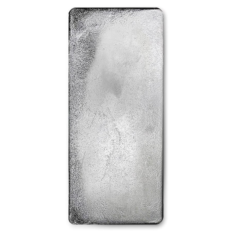 100 oz Royal Canadian Mint Silver Bar