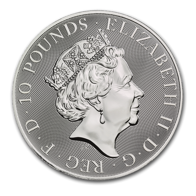 2019 10 oz Royal Mint Valiant Silver